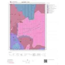 I18d1 Paftası 1/25.000 Ölçekli Vektör Jeoloji Haritası
