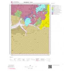 I18d3 Paftası 1/25.000 Ölçekli Vektör Jeoloji Haritası