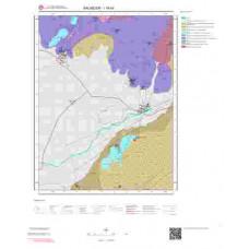 I18d4 Paftası 1/25.000 Ölçekli Vektör Jeoloji Haritası