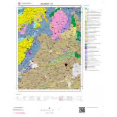 I19 Paftası 1/100.000 Ölçekli Vektör Jeoloji Haritası