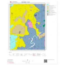 I19a2 Paftası 1/25.000 Ölçekli Vektör Jeoloji Haritası
