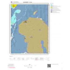 I19a3 Paftası 1/25.000 Ölçekli Vektör Jeoloji Haritası