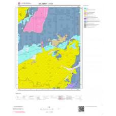 I19a4 Paftası 1/25.000 Ölçekli Vektör Jeoloji Haritası