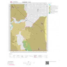I19c3 Paftası 1/25.000 Ölçekli Vektör Jeoloji Haritası