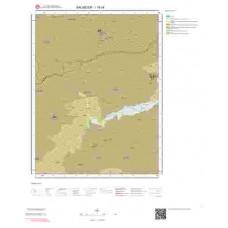 I19c4 Paftası 1/25.000 Ölçekli Vektör Jeoloji Haritası