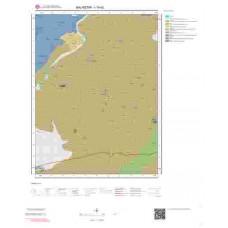 I19d2 Paftası 1/25.000 Ölçekli Vektör Jeoloji Haritası