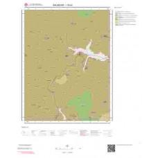 I19d3 Paftası 1/25.000 Ölçekli Vektör Jeoloji Haritası