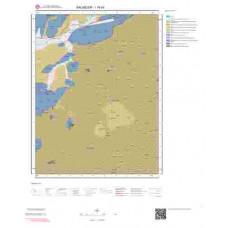 I19d4 Paftası 1/25.000 Ölçekli Vektör Jeoloji Haritası