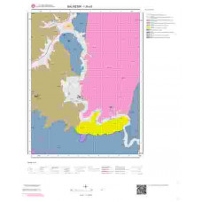 I20a3 Paftası 1/25.000 Ölçekli Vektör Jeoloji Haritası