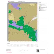 I20a4 Paftası 1/25.000 Ölçekli Vektör Jeoloji Haritası