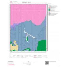 I20b3 Paftası 1/25.000 Ölçekli Vektör Jeoloji Haritası