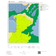 I20c1 Paftası 1/25.000 Ölçekli Vektör Jeoloji Haritası