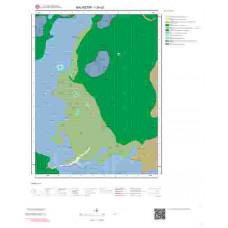 I20c2 Paftası 1/25.000 Ölçekli Vektör Jeoloji Haritası