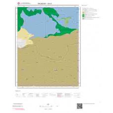 I20c3 Paftası 1/25.000 Ölçekli Vektör Jeoloji Haritası
