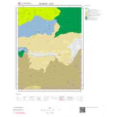 I20c4 Paftası 1/25.000 Ölçekli Vektör Jeoloji Haritası