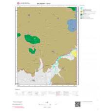 I20d1 Paftası 1/25.000 Ölçekli Vektör Jeoloji Haritası