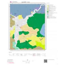 I20d2 Paftası 1/25.000 Ölçekli Vektör Jeoloji Haritası