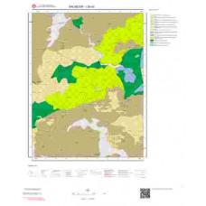 I20d3 Paftası 1/25.000 Ölçekli Vektör Jeoloji Haritası