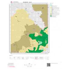 I20d4 Paftası 1/25.000 Ölçekli Vektör Jeoloji Haritası