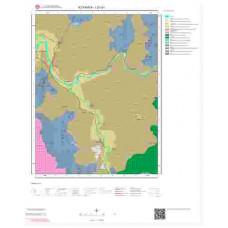 I21a1 Paftası 1/25.000 Ölçekli Vektör Jeoloji Haritası