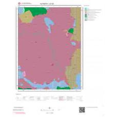 I21a3 Paftası 1/25.000 Ölçekli Vektör Jeoloji Haritası