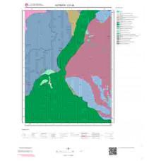 I21a4 Paftası 1/25.000 Ölçekli Vektör Jeoloji Haritası