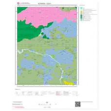 I22a1 Paftası 1/25.000 Ölçekli Vektör Jeoloji Haritası
