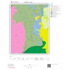 I22a4 Paftası 1/25.000 Ölçekli Vektör Jeoloji Haritası
