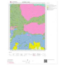 I22b1 Paftası 1/25.000 Ölçekli Vektör Jeoloji Haritası