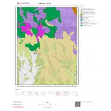 I27a3 Paftası 1/25.000 Ölçekli Vektör Jeoloji Haritası