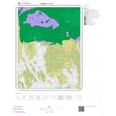 I27a4 Paftası 1/25.000 Ölçekli Vektör Jeoloji Haritası