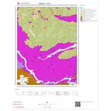 I27b1 Paftası 1/25.000 Ölçekli Vektör Jeoloji Haritası