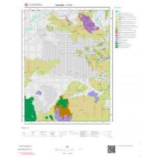 I27d1 Paftası 1/25.000 Ölçekli Vektör Jeoloji Haritası