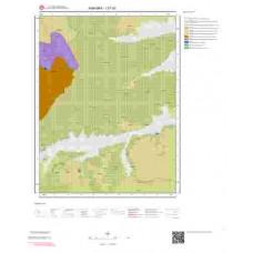 I27d3 Paftası 1/25.000 Ölçekli Vektör Jeoloji Haritası