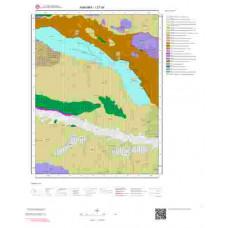 I27d4 Paftası 1/25.000 Ölçekli Vektör Jeoloji Haritası