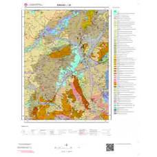 I28 Paftası 1/100.000 Ölçekli Vektör Jeoloji Haritası