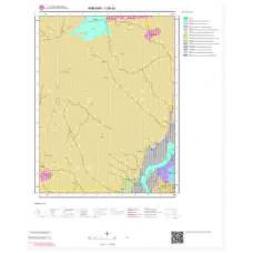 I28a1 Paftası 1/25.000 Ölçekli Vektör Jeoloji Haritası