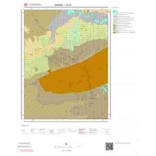 I28a3 Paftası 1/25.000 Ölçekli Vektör Jeoloji Haritası