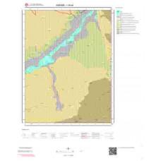 I28a4 Paftası 1/25.000 Ölçekli Vektör Jeoloji Haritası