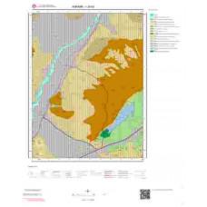 I28b3 Paftası 1/25.000 Ölçekli Vektör Jeoloji Haritası