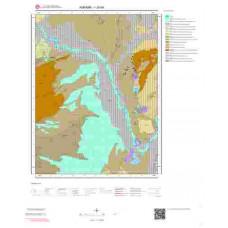 I28b4 Paftası 1/25.000 Ölçekli Vektör Jeoloji Haritası