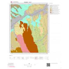 I28c1 Paftası 1/25.000 Ölçekli Vektör Jeoloji Haritası