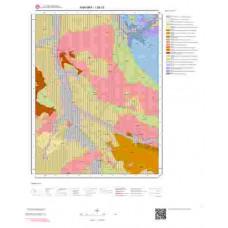 I28c3 Paftası 1/25.000 Ölçekli Vektör Jeoloji Haritası
