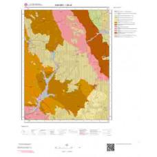 I28c4 Paftası 1/25.000 Ölçekli Vektör Jeoloji Haritası