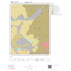 I28d1 Paftası 1/25.000 Ölçekli Vektör Jeoloji Haritası
