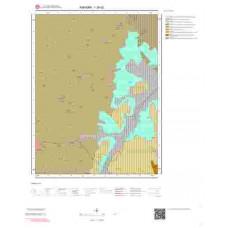 I28d2 Paftası 1/25.000 Ölçekli Vektör Jeoloji Haritası