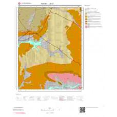 I28d3 Paftası 1/25.000 Ölçekli Vektör Jeoloji Haritası