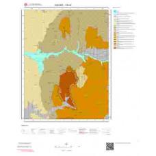 I28d4 Paftası 1/25.000 Ölçekli Vektör Jeoloji Haritası