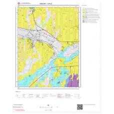 I29a2 Paftası 1/25.000 Ölçekli Vektör Jeoloji Haritası
