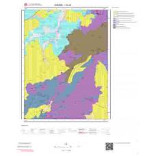I29a3 Paftası 1/25.000 Ölçekli Vektör Jeoloji Haritası